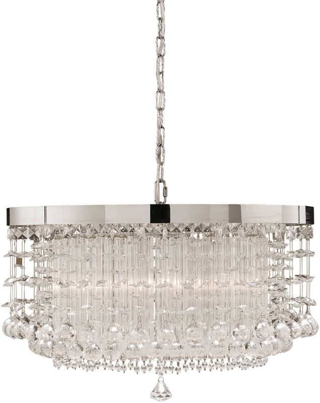 Fascination Chandelier Crystal Accented
