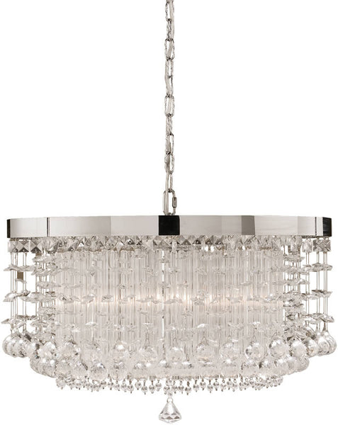 Uttermost Fascination Chandelier Crystal Accented 21138