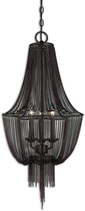 Lezzeno 3-Light Chandelier Dark Oil Rubbed Bronze