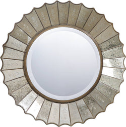 Uttermost Amberlyn Mirrors Heavily Antiqued Gold Leaf 08028B