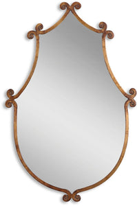"37x24"" Ablenay Mirror Antiqued Gold"