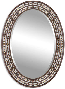 "34x24"" Matney Mirror Oil Rubbed Bronze"