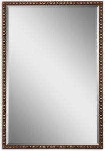 "32x22"" Tempe Mirror Rusty Brown"