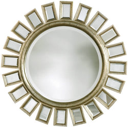 Uttermost Cyrus Mirrors Distressed Silver Leaf 14076B