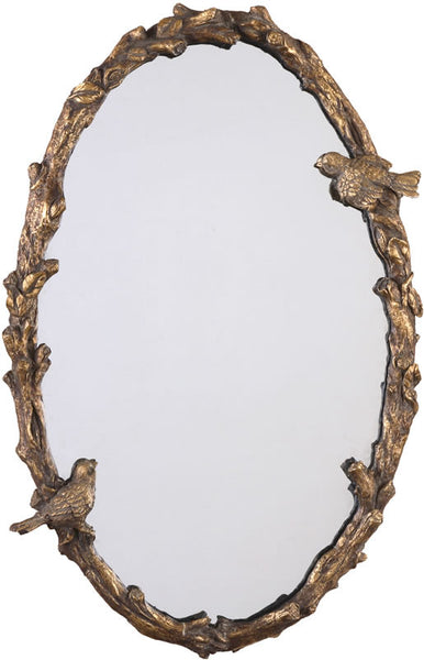 Uttermost Paza Mirror Gold Leaf 13575P