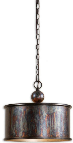 Uttermost Albiano Metal Hanging Shade Oxidized Bronze 21921