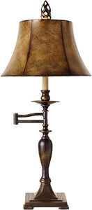 Uttermost Romina 2-Way Table Lamp Distressed Antique Bronze 26628