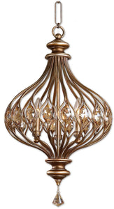 Sabina 3-Light Pendant Burnished Gold Metal
