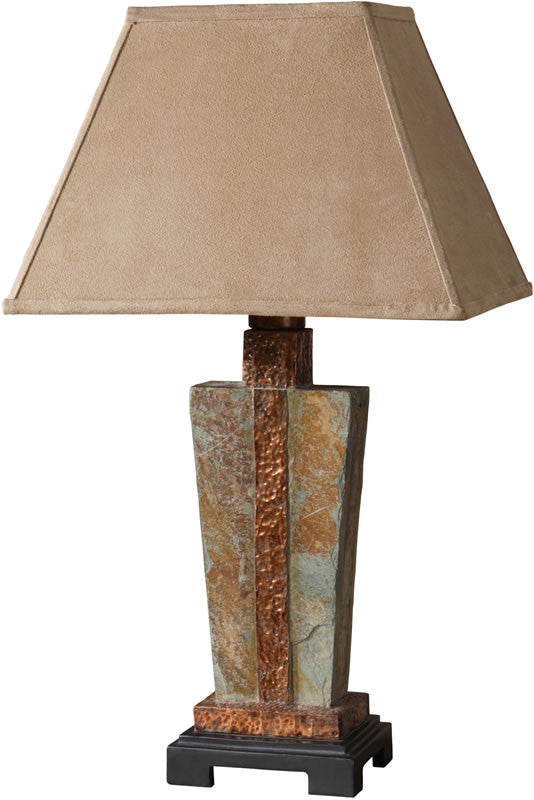 "29""H 1-Light Table Lamp Slate"