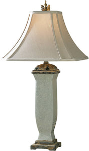 Uttermost Reynosa 2-Way Table Lamp Light Bluish Gray Wash 26625