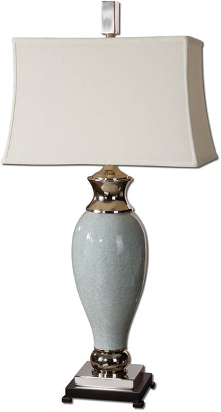 Uttermost Rossa 1-Light Table Lamp Light Blue 26783