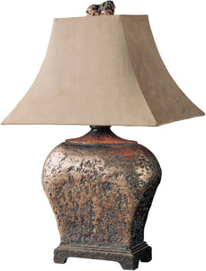 Uttermost Xander 2-Way Table Lamp Atlantis Bronze 27084