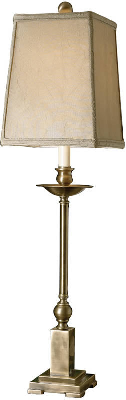 "33""H Lowell 2-Way Table Lamp Light Aged Bronze"