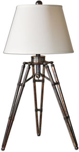 "33""h Tustin 1-Light Table Lamp Oxidized Bronze"