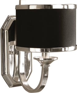 Uttermost Tuxedo Wall Sconce Silver 22442