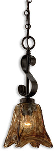 Uttermost Vetraio Mini Pendant Oil Rubbed Bronze 21801