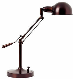 Verilux Lamps Brookfield Deluxe Natural Spectrum Desk Lamp Aged Bronze VD08AB1