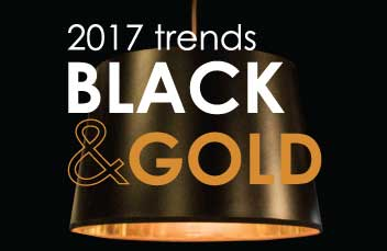 Get The Look - 2017 Trends - Black & Gold (Value Picks)