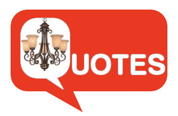 Blog - Famous Lighting Quotes