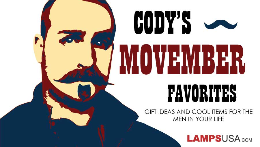 Blog - Cody's Movember Favorites - Gifts for the Men in Your Life