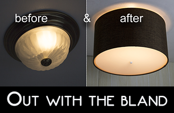 How-To's & Tips - Installation of Ceiling Light Cover Conversion Kits