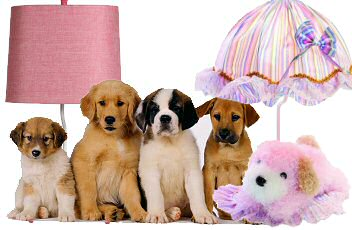 Get The Look - Dog Lovers go Crazy for these Cute Dog Lamps