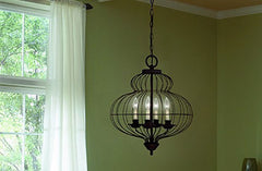 Get The Look - Caged Lighting