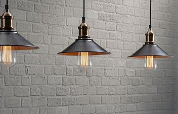 Get The Look - Get The Look - Industrial Era Bulbs and Fixtures