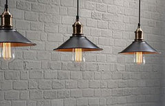 Get The Look - Industrial Era Bulbs and Fixtures