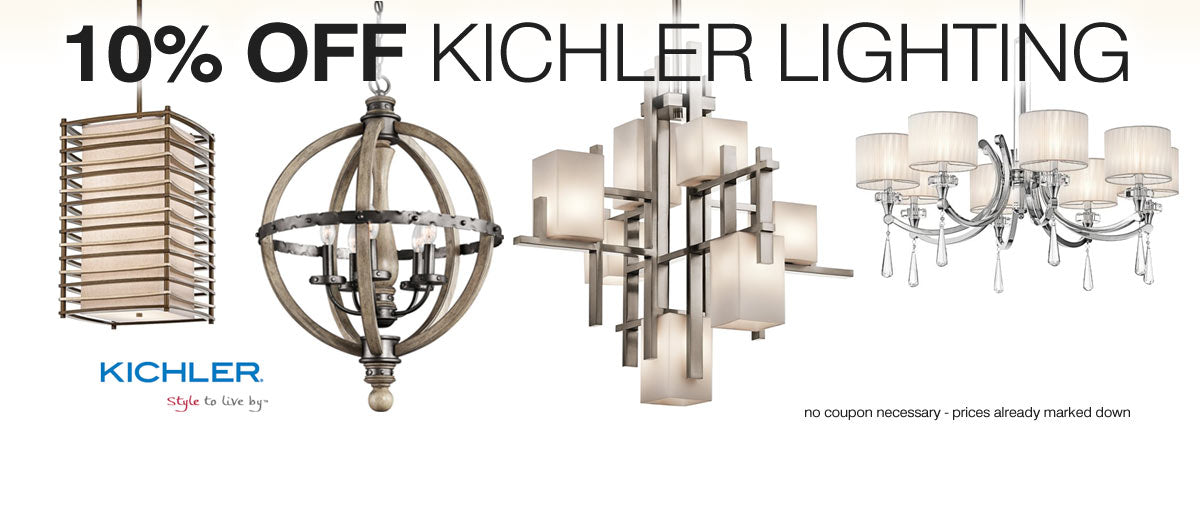 10% Off Kichler Lighting