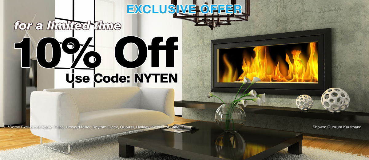 Extra 10% Off Top Lighting Brands
