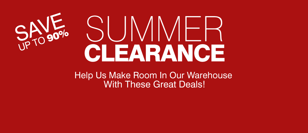 Summer Clearance - Up To 90% Off