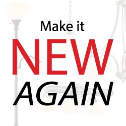 View Make it New Again with Lamp Lighting and Other Parts