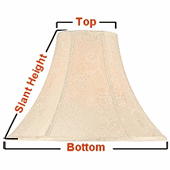 How to measure a lamp shade