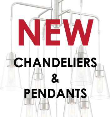Get The Look - What's New for Chandeliers & Pendants