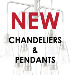 What's New for Chandeliers & Pendants
