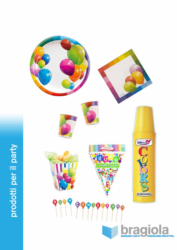Kit Party Balloons Givi - 20 persone