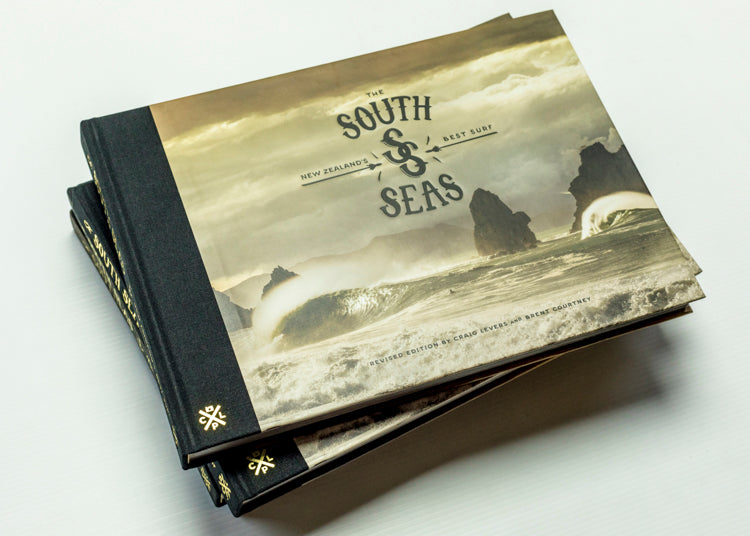 the south seas: nz's best surf - revised edition