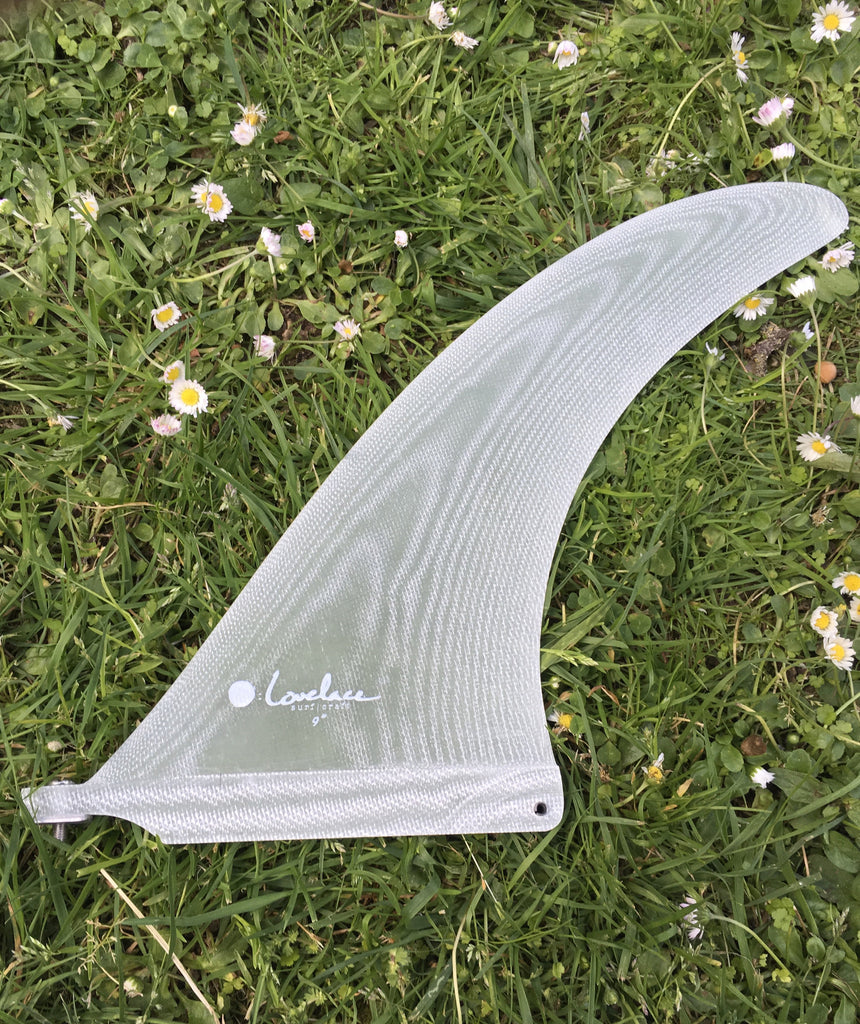 "9"" ryan lovelace signature volan hand foiled fin"