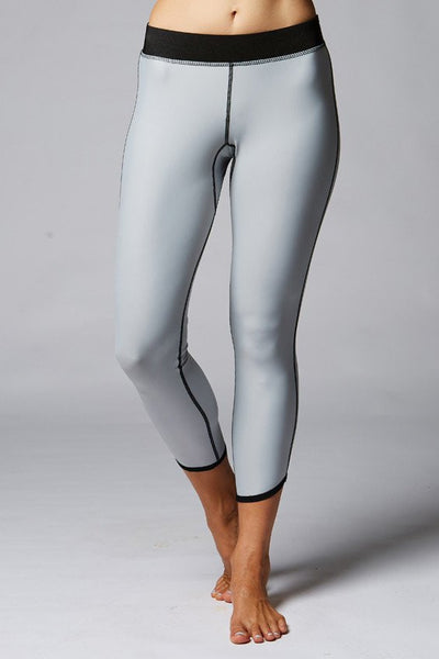 stone surf leggings grey
