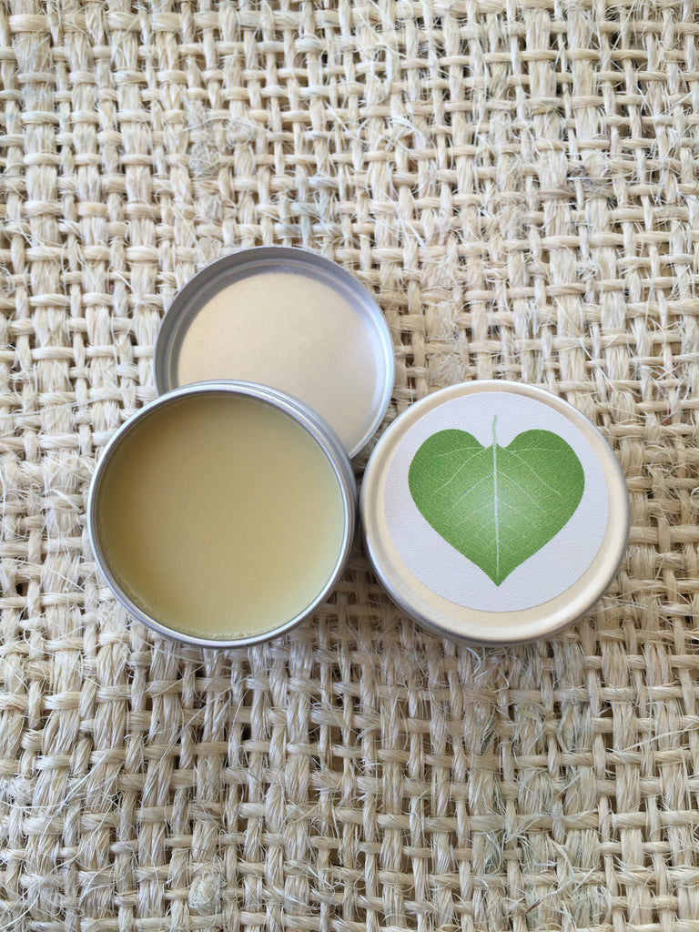 vanilla herbal lip balm