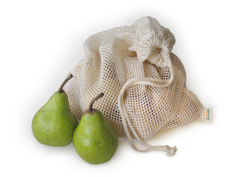 multi pack - 3 eco friendly produce bags 100% organic