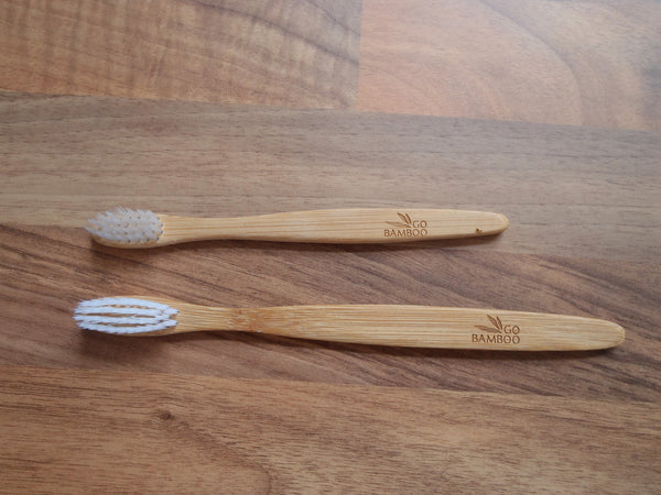 bamboo toothbrushes - 100% biodegradable