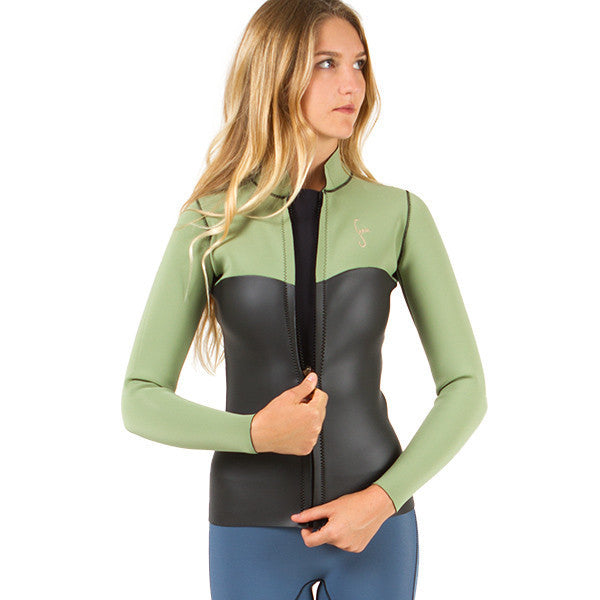 rincon 2mm neoprene zip jacket