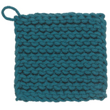 chunky knit cotton potholder