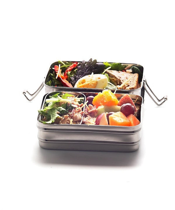 lunchbox - rectangular stainless steel