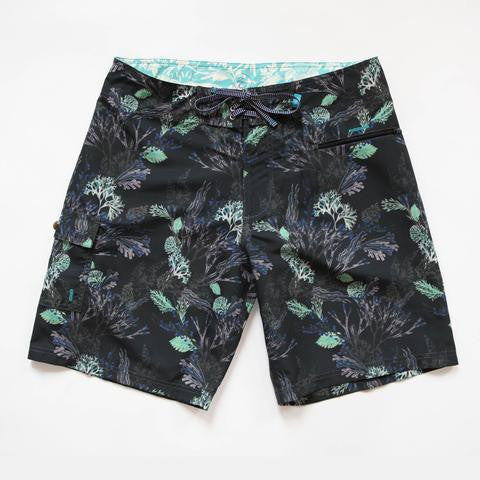seaweed black blighty boardshorts