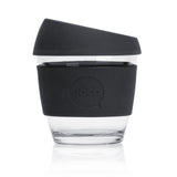 glass reusable coffee cups - 8oz