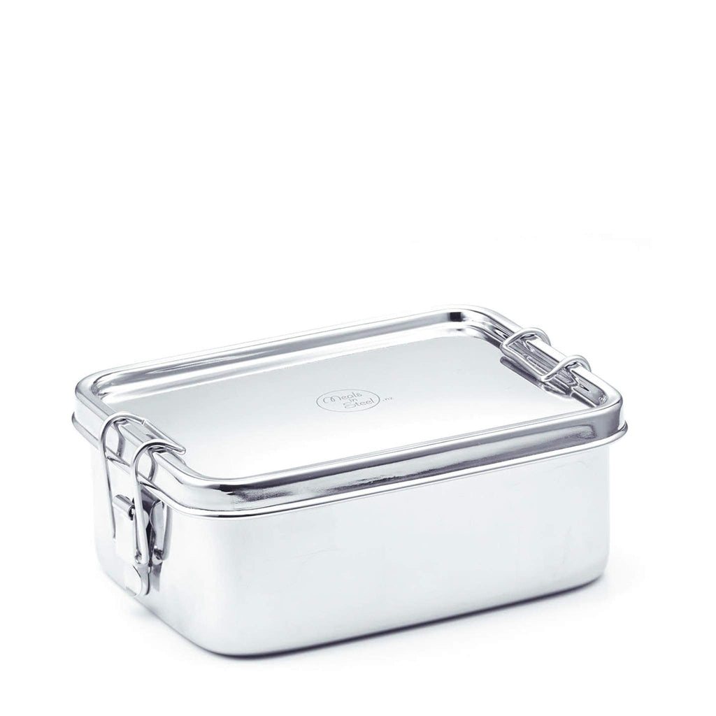 large stainless steel lunchbox