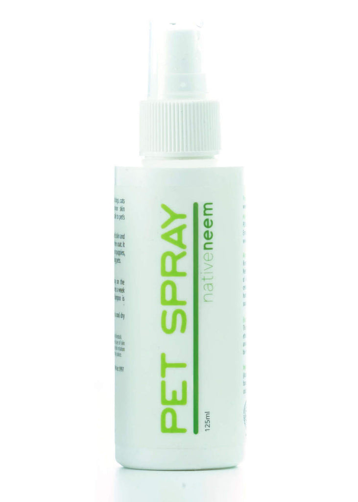 organic neem pet spray